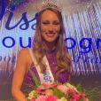 Lou-Anne, la petite soeur de Marine Lorphelin, a été sacrée Miss Bourgogne 2020 à Châlon-sur-Saône.