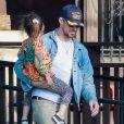 Exclusif - Eva Mendes et son compagnon Ryan Gosling ont passé la journée avec leurs filles Esmeralda et Amada à Los Angeles, le 26 avril 2019.