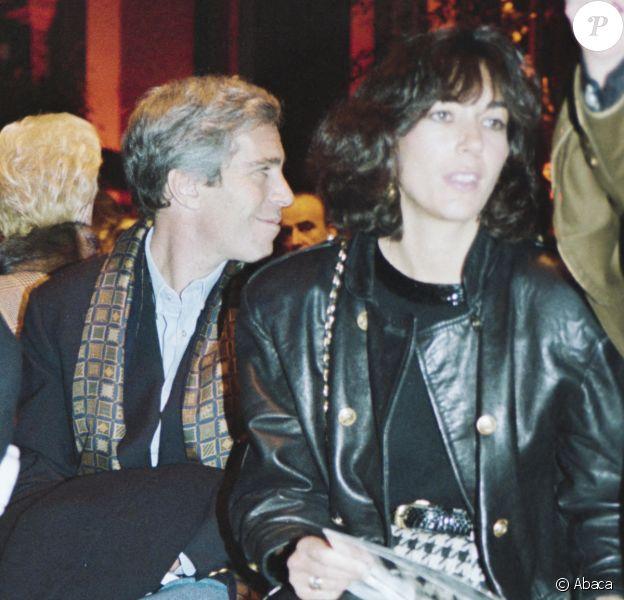 Ghislaine Maxwell et Jeffrey Epstein au défilé Valentino.