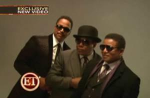 Les frères Jackson se prennent pour des stars de ciné... Vive le business, regardez !
