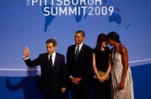 Carla Bruni reste fidèle et retrouve enfin sa grande copine Michelle Obama !