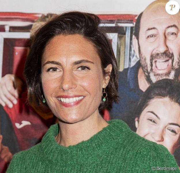 """Alessandra Sublet - Avant-première du film """"Une belle équipe"""" à Paris. © Jack Tribeca/Bestimage"""