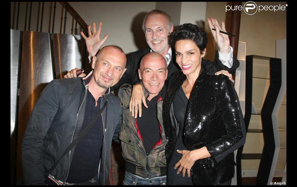 Top Farida Khelfa et les photographes Pierre et Gilles lors du  DX07
