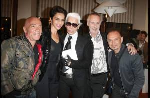 Farida Khelfa, Karl Lagerfeld et leurs amis se remémorent leurs... années folles !
