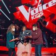Sara, coachée à distance par Jenifer, pour The Voice Kids. Instagram, le 9 octobre 2020.