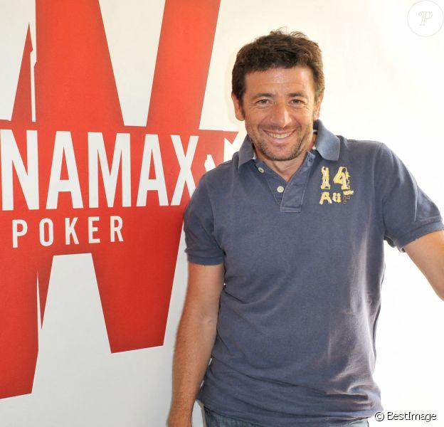 Patrick Bruel - Conférence de presse pour le lancement du site de jeu de poker en ligne Winamax.fr.