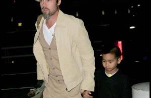 Brad Pitt et Maddox sont de retour en France pour rejoindre Angie et les enfants !