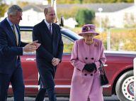 Elizabeth II : Première sortie au côté de William après 7 mois de confinement