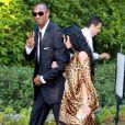 Kobe Bryant et sa femme Vanessa au mariage de Khloe Kardashian et du joueur de basket Lamar Odom. 27/09/09