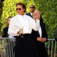 Bruce Jenner, beau-père de la mariée, arrive au mariage de Khloe Kardashian et du joueur de basket Lamar Odom. 27/09/09