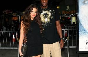 Khloe Kardashian a bien épousé son Lamar Odom... mais ça lui rapportera des cacahuètes ! ! Regardez !