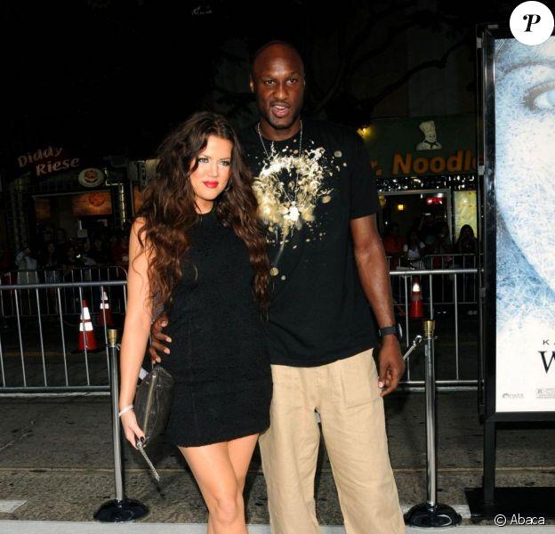 au mariage de Khloe Kardashian et de Lamar Odom. 27/09/09