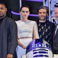 John Boyega, Daisy Ridley, Oscar Isaac, Anthony Daniels - Première du film Star Wars, épisode IX : L'Ascension de Skywalker à Tokyo le 11 décembre 2019.