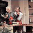 Le 28 septembre à Paris, filage de la pièce  Un Oreiller... Ou trois ?  avec Paul Belmondo et Delphine Depardieu.