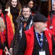 """Jean-Luc Reichmann lors du photocall de la série """"Léo Matteï, Brigade des mineurs"""" lors du 22ème Festival des créations télévisuelles de Luchon, France, le 7 février 2020. © Patrick Bernard/Bestimage"""