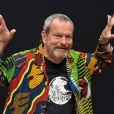 Terry Gilliam en pleine séance photo pour  L'imaginarium de docteur Parnassus , le 30 septembre à Paris!