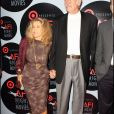 Micheline Roquebrune et Sean Connery à Hollywood aux Night Movies, en 2010.