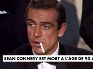 Sean Connery, James Bond à jamais, est mort