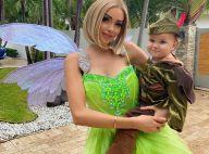 Nabilla : Sublime Fée Clochette dans les rues de Miami, Milann mini Peter Pan hilare