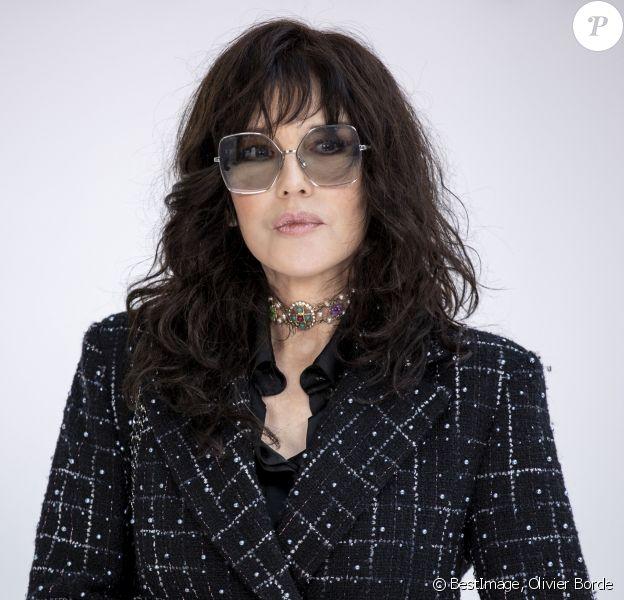 Isabelle Adjani - Photocall - Défilé Chanel collection prêt-à-porter Automne/Hiver 2020-2021 lors de la Fashion Week à Paris. © Olivier Borde/Bestimage