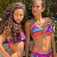 Wafa et sa fille Manel posent en bikini sur Instagram, photo du 27 octobre 2020