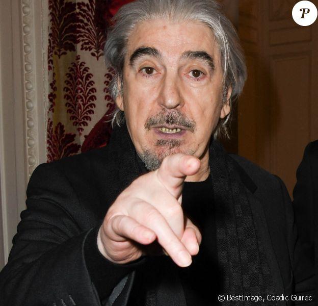 """Serge Lama - Lancement du livre """"Sardou Regards"""" de B.Kossek à l'hôtel Raphael à Paris, France. © Coadic Guirec/Bestimage"""