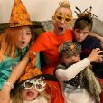 Elodie Gossuin et ses enfants sur Instagram, octobre 2020.
