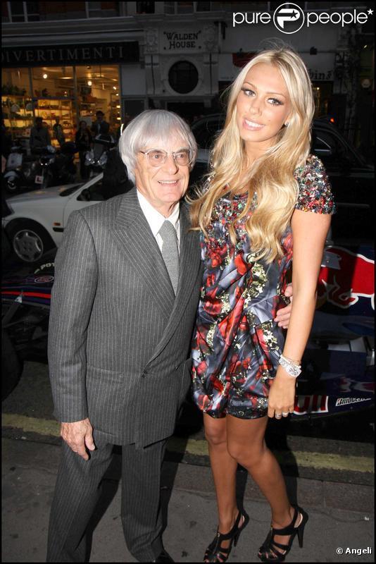 tamara ecclestone closet. Bernie Ecclestone et sa fille