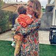 Sylvie Tellier avec son fils Roméo sur Instagram