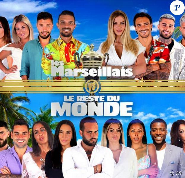 """Photo officielle du casting de la nouvelle saison des """"Marseillais vs Le Reste du Monde"""" - W9"""
