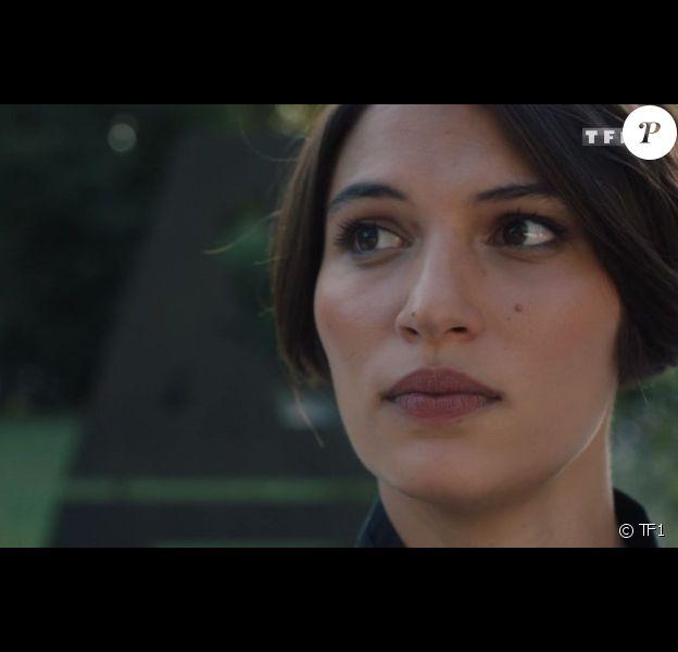 """Lucia Passaniti dans la série """"Ici tout commence"""", diffusée sur TF1."""