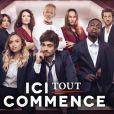 """Les héros de la série """"Ici tout commence"""", diffusée sur TF1."""