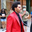 The Weeknd à New York, le 27 août 2020.