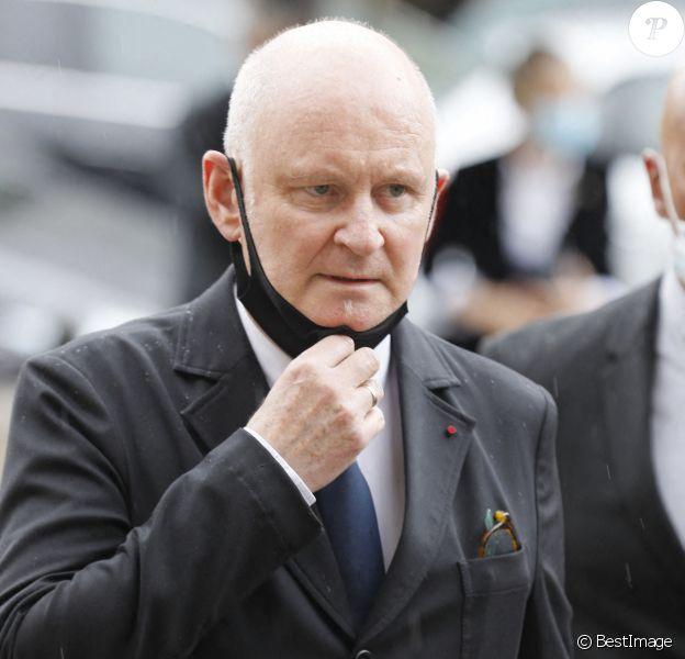 Christophe Girard - Obsèques de l'académicien Marc Fumaroli en l'église Saint-Germain-des-Près à Paris, l'été dernier.