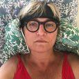 Christine Bravo en mode selfie sur Instagram. Novembre 2020.