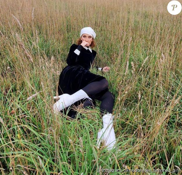 Céline Dion prend la pose sur Instagram pour fêter le Thanksgiving américain.
