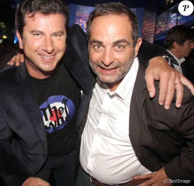 Pascal Bataille et Laurent Fontaine au VIP ROOM, à Paris
