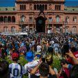 L'Argentine, en deuil, pleure la mort de Diego Armando Maradona. Buenos Aires, le 26 novembre 2020.
