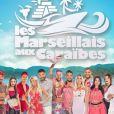 Affiche officielle des Marseillais aux Caraïbes