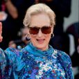 """Meryl Streep à la première du film """"The Laundromat"""" lors de la 76e du édition festival du film de Venise, la Mostra, sur le Lido de Venise, Italie, le 1er septembre 2019."""