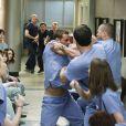 Baston dans la saison 6 : Justin Chambers (dr Karev) et Jesse Williams ne s'entendent pas !