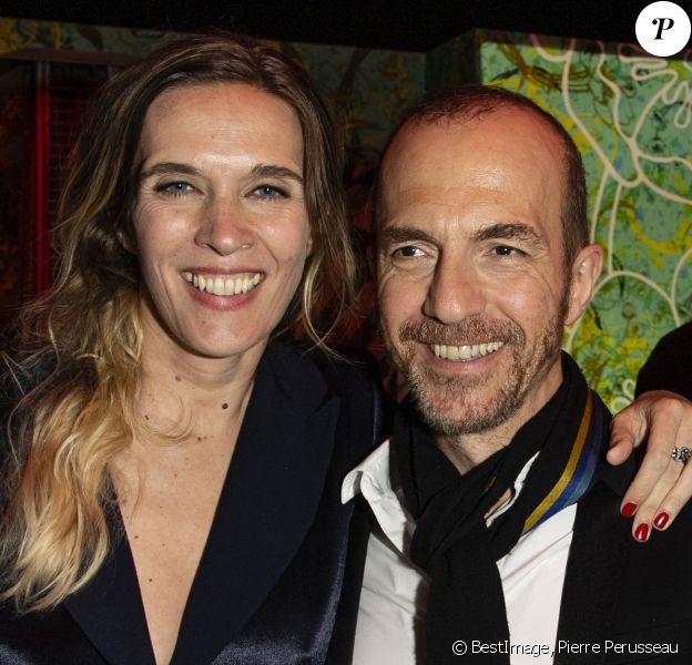 Exclusif - Marie Bastide et son compagnon Calogero lors de la 72e édition du Festival de Cannes, à la Suite Sandra & Co by Sandra Sisley © Pierre Perusseau/Bestimage