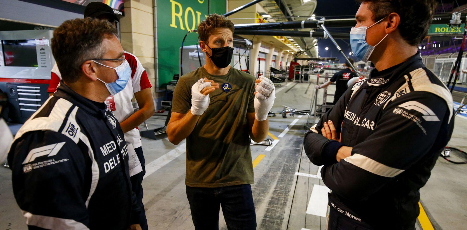 Romain et Marion Grosjean : De retour sur le circuit du terrible accident