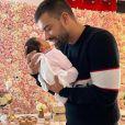 Vincent Queijo avec sa fille Maria-Valentina - Instagram