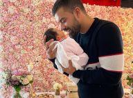 Vincent Queijo : Gros plan sur le visage de sa fille, son portrait craché