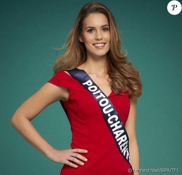 Miss Poitou-Charentes : Justine Dubois, 24 ans, étudiante en en achats internationaux