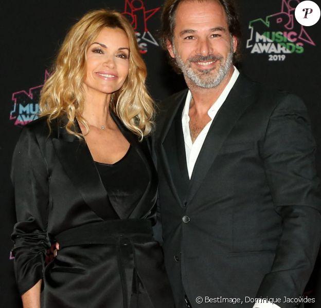 Ingrid Chauvin et son mari Thierry Peythieu - 21ème édition des NRJ Music Awards au Palais des festivals à Cannes. © Dominique Jacovides/Bestimage