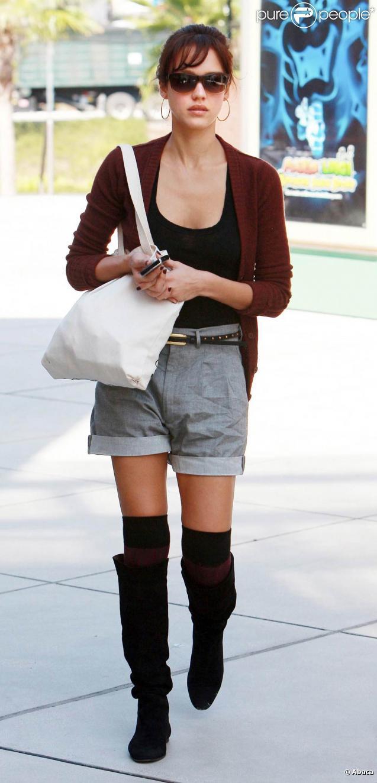 Jessica Alba à Los Angeles, le 8 octobre 2009