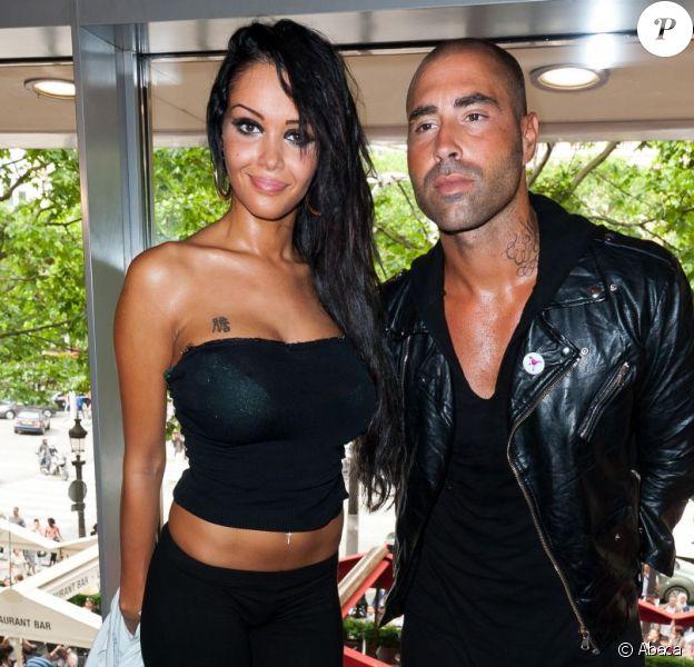 Sofiane et Nabilla à Paris.