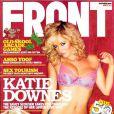 La très sexy Katie Downes en couverture de FRONT !